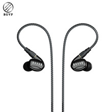 Buy BGVP DM5 2 Balanced Armature + 2 Dynamic Drivers Hybrid Earphone HiFi MMCX Detachable In-ear Earphone Audiophile 2 Cables for $60.00 in AliExpress store