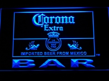 418 Corona Bar Beer Extra LED Neon Sign with On/Off Switch 7 Colors 4 Sizes to choose