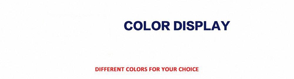 more color