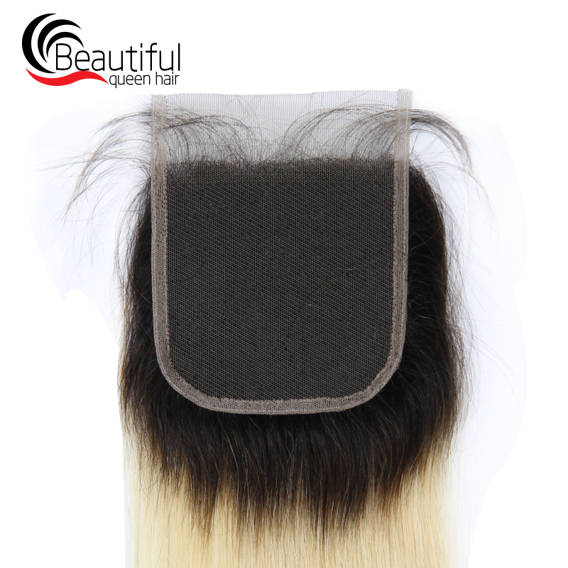brazilian human remy hair 1b 613 closure