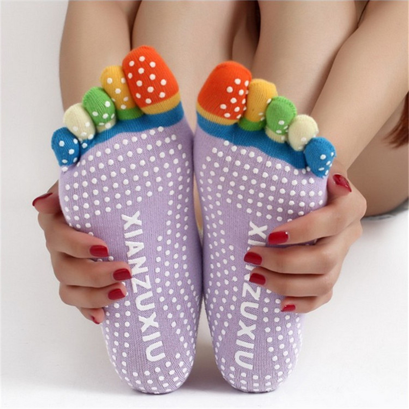 17 Colorful Socks Women Dance For Girls Short Socks With Silicone Peds Liners Tube Socks 22