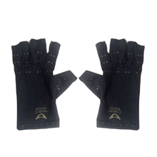 Fiber Health Gloves Half Finger Gloves Promoting Blood Circulation Health Care Products Hot Sale(China)