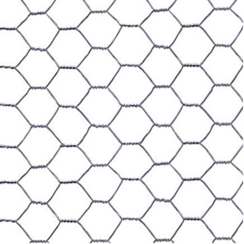 La Bolata-Rollo de malla met/álica galvanizada hexagonal 1 x 5 m