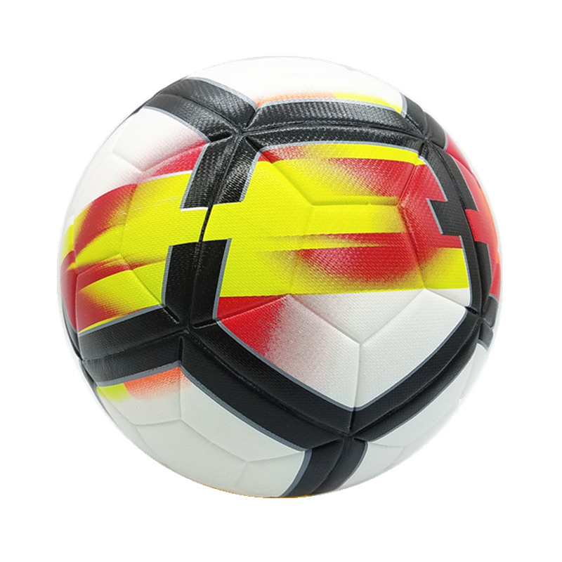 Top quality 2017-2018 England League size 5 Football ball Professional Match Trainning Soccer Ball PU Material Ball(China (Mainland))