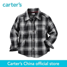 Carter's 1pcs baby children kids Plaid Button-Front Shirt 243G632,sold by Carter's China official store