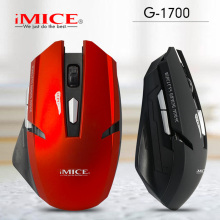 iMICE Wireless Gaming Mouse 6 Button Optical Professional Mouse 2000dpi Game Machine Computer Mouse for PC Notebook PC G-1700(China)