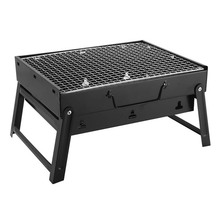 Outdoor Folding Patio Barbecue Grill Portable Camping picnic Garden Stainless Steel charcoal furnace BBQ grills Burn oven stove(China)