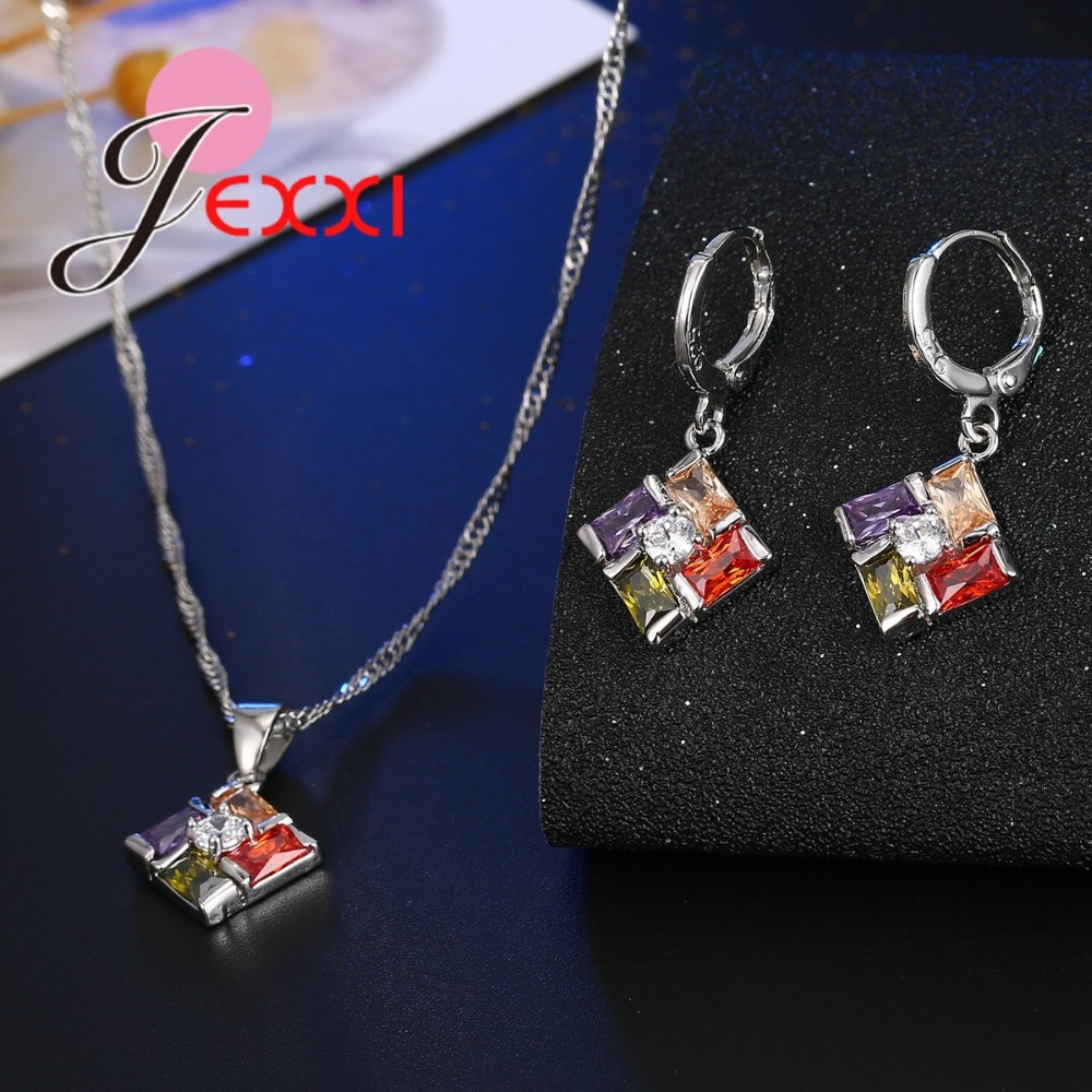 JEXXI-New-Jewelry-Set-Colored-CZ-Crystal-Pendant-Necklace-Earrings-Set-for-Women-Party-Accessories-Fashion (1)