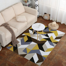 Simple stripes Pattern North European Living Room Big Area Decoration Carpet Rugs for Bedroom Soft Door Mat Coffee Table Carpets