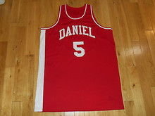 Pete Maravich #5 Daniel High School New Men Basketball Jersey Navy Blue Any Size Throwback Jerseys Stitched Embroidery Retro Emb