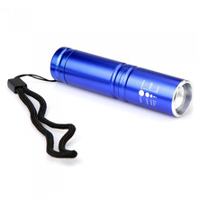 LED Flashlight  Light CREE T6 Zoomable Built-in rechargeablE Adjustable Lamp Camping Fishing Flashlight