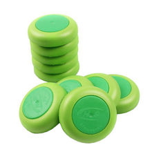 10 Pcs/ Set Green Discs Gun Vortex Praxis Flying Discs Toy Bullet for NERF Outdoor Game Frisbee(China)
