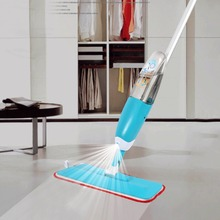 Cleaning Brush Water Spray Squeeze Magic Mops Multifunctional Aluminium Pole Microfiber Mop Floor Household Cleaning Tools
