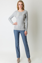 Pants and Capris VISAVIS JL3629 jeans female winter Cotton(China)