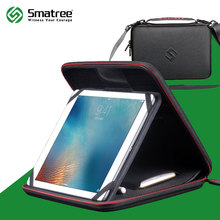 Smatree EVA Hard Carrying Case for iPad air2,iPad Pro 9.7inch with Adjustable Stand and Pocket for iphone 7,Plus,Apple Pencil