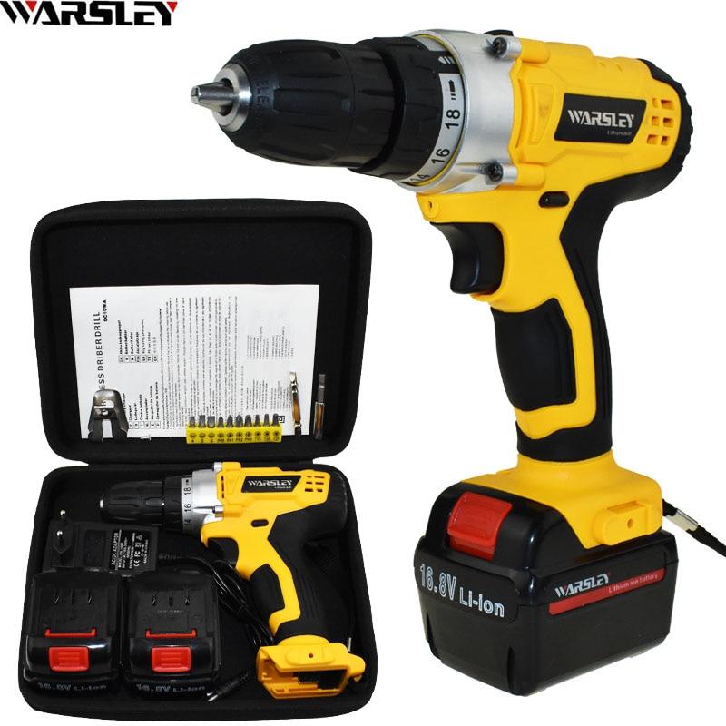 16.8V power tools Cordless Drill electric Drill Battery drill electric screwdriver Batteries Screwdriver Mini drilling<br>