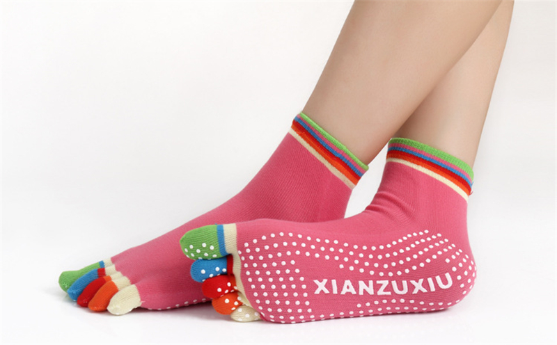 17 Colorful Socks Women Dance For Girls Short Socks With Silicone Peds Liners Tube Socks 29