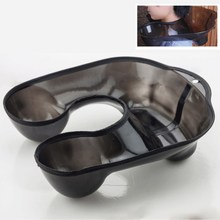 Salon Neck Tray Hair Perm Dyeing Container Plastic Coloring Sink Neck Rest Cushion Hairdresser Beauty Accessories 2017 New(China)