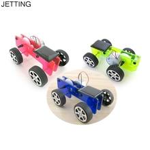 1pc Mini Solar Powered Toy DIY Car Kit Children Educational Gadget Hobby Funny New Hot Children science toy