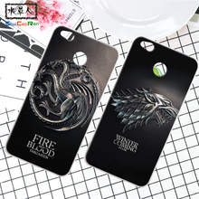 ShuiCaoRen Silicone Case For Xiaomi Redmi 4A Retra Game of Thrones Cover Phone Coque Ice and Fire Fundas For Redmi 4X(China)