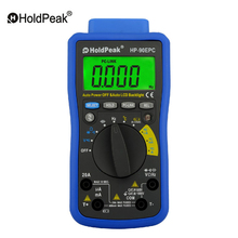 HoldPeak HP-90EPC Computer Connection Digital Multimeter CAT IV Auto High Precision Electronic Multimeter