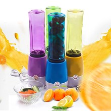 Portable Travel Mini Juicer Fruits Vegetables Reamer Food Processor Smoothie Maker Multifunctional Home Outdoors Kitchen Tools(China)