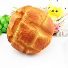 Big Pineapple Buns Squishy Slow Rising Squeeze Phone Straps Toys IUNEED TOY Store(China)