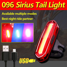 USB Rechargeable Bicycle Tail Light Mountain Bike Taillight Safety Warning Bicycle Rear Light LED Cycling Light tail light(China)