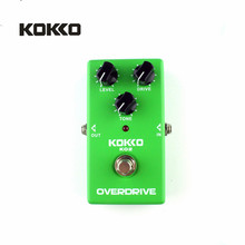 KOKKO KO2 Vintage Tube Overdrive Guitar Effects Pedal Analog Overdrive Guitarra Effects High Gain Booster True Bypass Parts(China)
