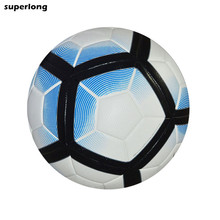 NEW Arrival Professional PU Official Size 5 Anti-Slip Granule Football Match Training Outdoor Sports Soccer Ball Equipment(China)