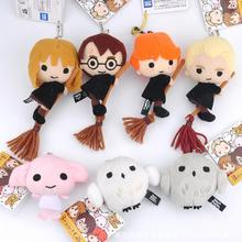 2017 New Cute Harry Potter Plush Hermione Plush Toys Q Version Owl Plush Pendant for Kids Girl Birthday Gifts Toy For Children(China)