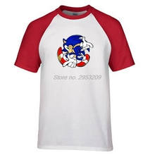 Sonic Santa Claus T Shirt Design Inspired By Christmas T-shirt Style Cool Fashion men brand cotton tee shirt summer ringer t