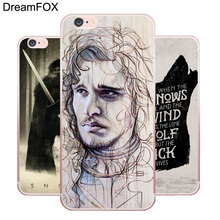 L241 Snow Game Of Throne Soft TPU Silicone Case Cover For Apple iPhone X 8 7 6 6S Plus 5 5S SE 5C 4 4S(China)