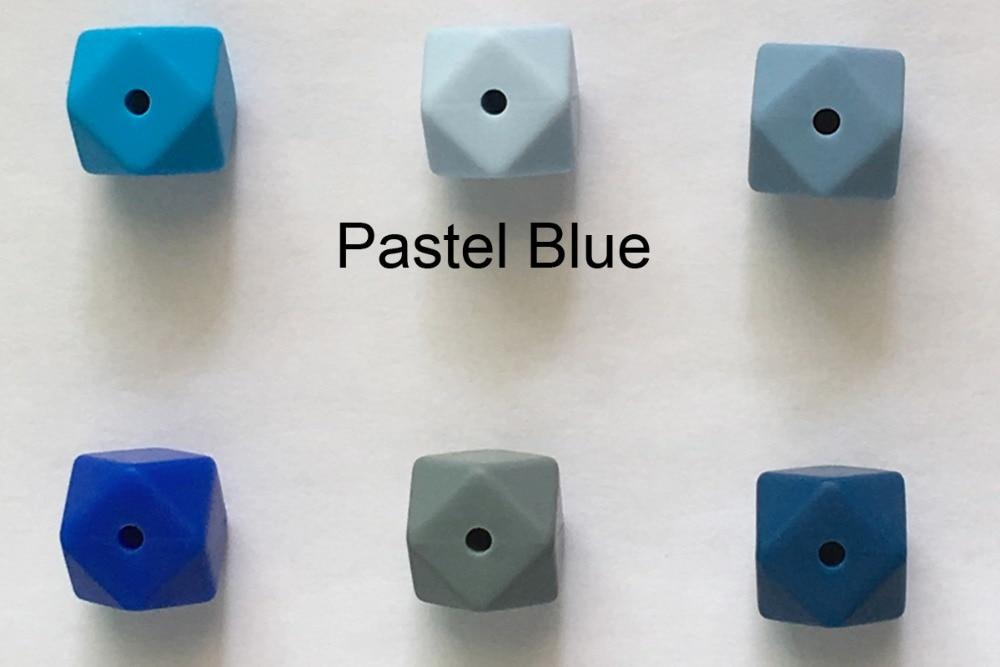 silicone hexagon beads