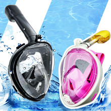Diving Mask Underwater Scuba Anti Fog Full Face Diving Mask Snorkeling Set with Anti-skid Ring Snorkel 2017 New Arrival(China)
