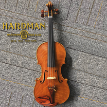 Stradivarius Maestro Style Handmade Solid Wood Violin 4/4 Full Size with Bow & Rosin
