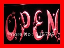 i204 OPEN Overnight Shop Bar Pub Club LED Neon Light Sign On/Off Switch 7 Colors 4 Sizes(China)