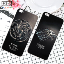 ShuiCaoRen Silicone Case For Huawei P8 Lite p8mini Retra Game of Thrones Cover Phone Coque Ice and Fire Fundas For Huawei P8 Max(China)