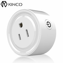 KINCO Mini Smart Wifi Socket US Plug Electricity Saving FCC Smart Home Remote Control Power Strip Timing Switch for IOS/Android