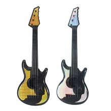 New Arrival Musical Guitar Toy With Pick Educational Toys Early Toddler For Baby Children Musical Play Fun Toys Gift