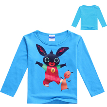 New Arrival Bing Bunny Rabbit Kids Clothes Spring Summer Baby Boys Girls Cartoon T Shirts China Low Price Children Tees Clothing