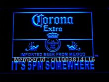 419 It's 5 pm Somewhere Corona Beer LED Neon Sign with On/Off Switch 7 Colors 4 Sizes to choose(China)