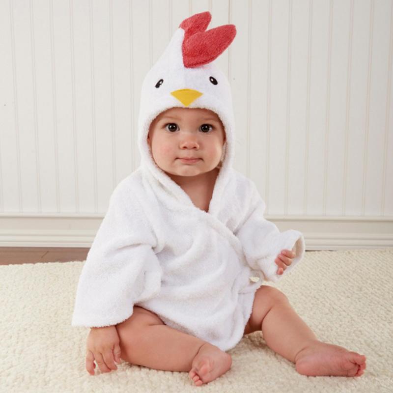 Armedeo Comfortable Baby Bathrobe Cute Animal Cartoon Babies Blanket ... 927921802