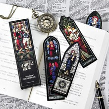 150 pcs/1 lot Cartoon Medieval low light Paper bookmarks for books/Share/book markers/tab for books/stationery W-SQ-470(China)