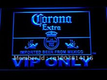 417 Corona Extra VIP Only Beer LED Neon Sign with On/Off Switch 7 Colors 4 Sizes to choose