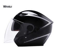 Free shipping Top Best Sales Safe full face helmet Motorcycle Helmet With Inner Sun Visor Double Lens open face helmets(China)