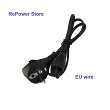 Brand new EU Plug Laptop Power Cord Cable For PC Samsung Toshiba Dell HP Acer Asus Laptop Adapter Charger notebook Wire SZ