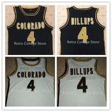 #4 Chauncey Billups Colorado Buffaloes College Basketball Jerseys Retro Throwback Stitched McDonald ALL AMERICAN jersey