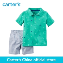 Carter's 2pcs baby children kids Polo & Short Set 229G128,sold by Carter's China official store