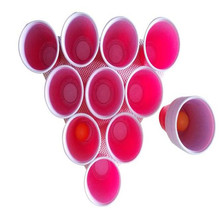 1 Set Party Game Drinking Toy Board Game Beer Pong Kit 17 Pong Balls and 12 Red Solo Cups Fun Party Drinking Game(China)